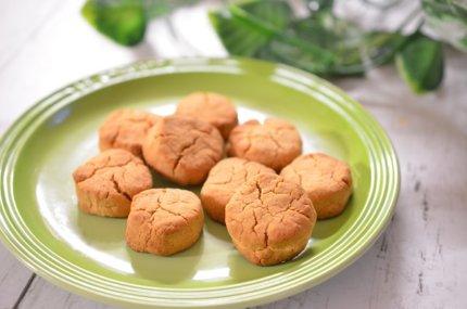【米粉のクッキー】バター・卵不使用で子供でも作れる簡単レシピ。