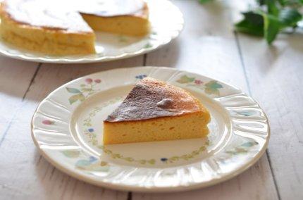「水切りヨーグルトのチーズケーキ」低カロリーなのに美味しい!