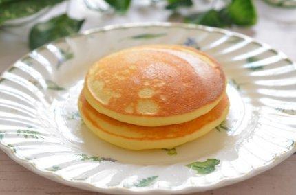 「ふんわり米粉パンケーキ」の作り方。驚くほどふんわりもっちり。