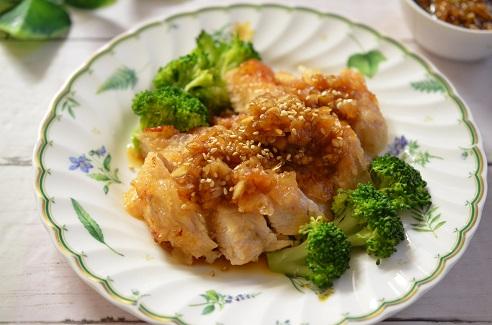 タレ 油 淋鶏