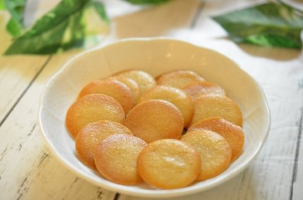 卵白と米粉で作る「ラングドシャ」バター不使用!グルテンフリー。