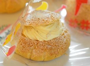 「豆乳カスタードクリーム」レンジで簡単!全卵・米粉使用。
