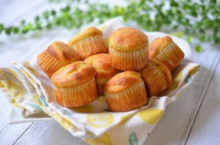 「米粉のバナナマフィン」ふわふわに仕上がる簡単レシピ!